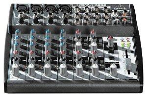 Mesa de Som Mixer 12 Canais Behringer Xenyx 1202 110V