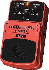 Pedal Para Guitarra Compressor Behringer CL9