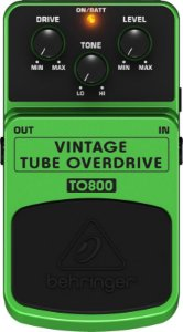 Pedal de Efeitos Para Guitarra Behringer TO800 Overdrive