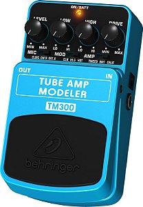 Pedal Para Guitarra Behringer Tube Amp Modeler Tm300