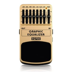 Pedal Para Guitarra Behringer EQ700 Graphic Equalizer