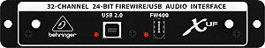 Interface Behringer X-UF Firewire Para X32