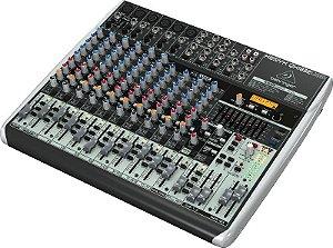 Mesa de Som Mixer Behringer 18 canais QX1832USB Bivolt