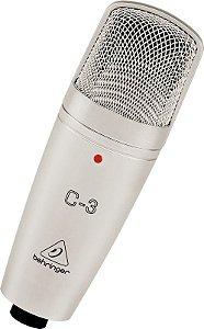 Microfone Condensador Behringer C3 Diafragma Duplo
