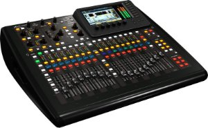 Mesa Mixer de Som Digital Behringer Compact X32 Interface