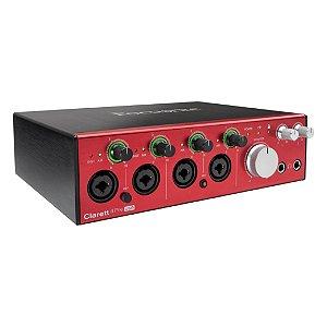 Interface de Audio Focusrite Clarett Usb-c 4 Pre
