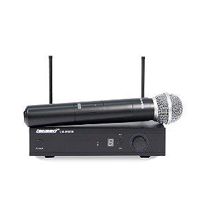 Microfone Sem Fio de Mão Uhf Lexsen LM-WM58 Bivolt
