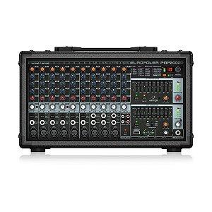 Mixer Mesa Behringer Amplificada EuroPower PMP2000D 110V