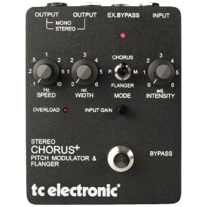 Pedal Stereo Chorus Flanger SCF TC ELECTRONIC