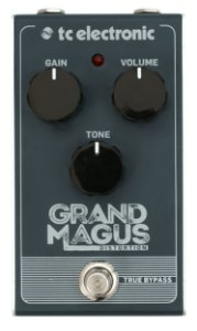 Pedal para Guitarra Grand Magus Distortion TC Electronic