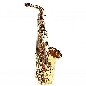 Saxofone Alto Eb Jahnke Profissional Laqueado Jsah001-lq