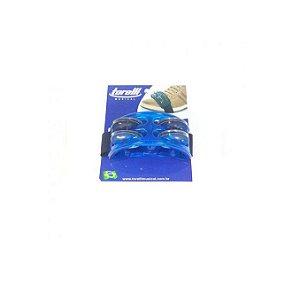 Pandeirola De Pé Torelli Tp303pr Azul Com 4 Platinelas
