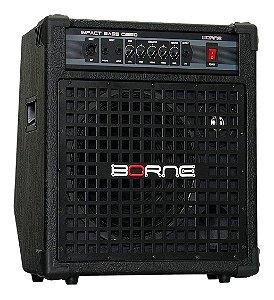 Amplificador Borne Baixo Impact Bass Cb150 150w + Cabo 4mt