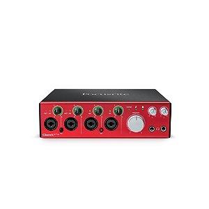 Interface de Áudio Focusrite Thunderbolt Clarett 4PRE 18/8