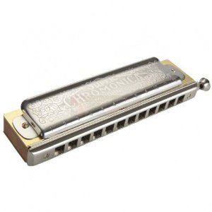 Gaita Harmonica Hohner Super Chromatic BB
