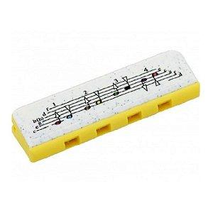 Gaita Harmonica Hohner Speedy Diatônica Amarela - C (DO)