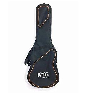 Capa para Guitarra King Musical Juvenil Extra Luxo