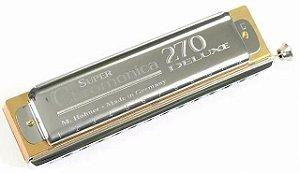 Gaita Harmônica Hohner Chromonica Deluxe 7540/48 C