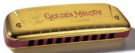 Gaita Harmônica Hohner GoldenMelody 543/20 C Edição Especial