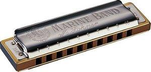 Gaita Harmonica Hohner Marine Band 1896/20 - AB ( LA BEMOL)