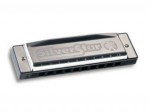 Gaita Harmonica Hohner Silver Star 504/20 Diatônica - E (MI)
