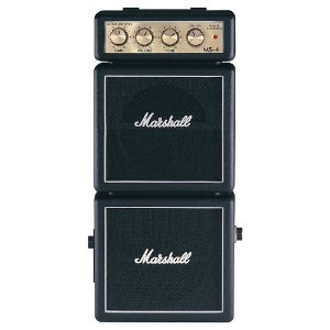 Mini Amplificador para Guitarra Marshall MS-4-E 127V 1W
