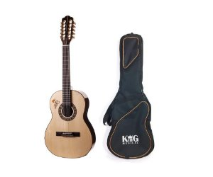 Kit Viola Rozini Tião Carreiro RV182AT Fishman Com Capa Luxo