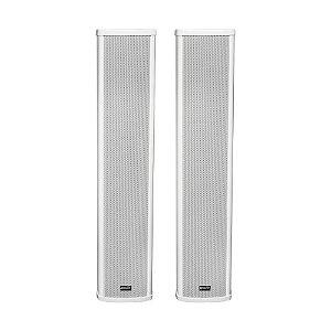 Caixa de Som Ambiente LCA83 Lexsen Coluna Branca