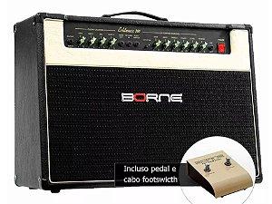 Amplificador Para Guitarra 2X12 Pol 150Wrms Evidence200 Borne