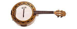 Banjo Rozini Elétrico Profissional Natural Maple RJ13ELNMP