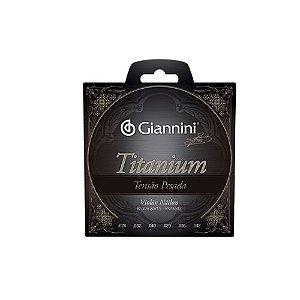 Encordoamento Violão Nylon Giannini Tensão Pesada Titanium