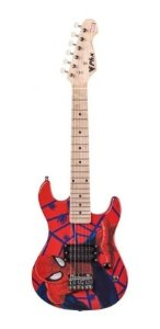 Guitarra Infantil Marvel Spider Man Kids Phx Gms K1