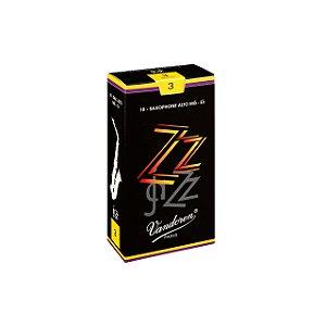 Palheta Zzjazz 3 P/sax Alto Cx C/10 Sr413 Vandoren