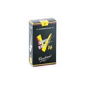 Palheta V16 2 P/sax Alto Cx C/10 Sr702 Vandoren