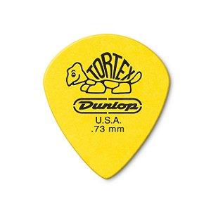 Palheta Tortex 0,73mm Amarela Pct C/12 418p.73 Dunlop
