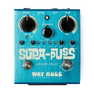 Pedal Supa-puss Delay Analogico Way Huge Whe707 Dunlop