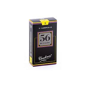 Palheta 56 Rue Lepic 3 P/clarinete Sib Cx C/10 Cr503 Vandoren