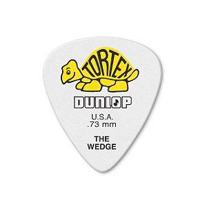 Palheta Tortex Wedge 0,73mm Pct C/12 424p.73 Dunlop
