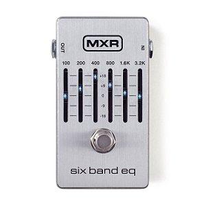 Pedal Mxr Six Band Eq Prata M109s Dunlop