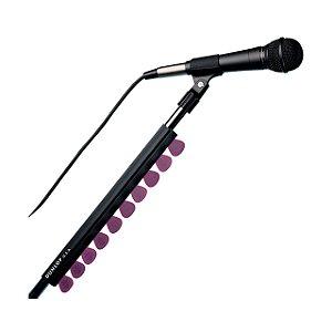 Porta Palheta Borracha 7 Pol P/pedestal Microfone 5010si Dunlop