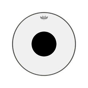 "Pele bumbo 20"" Controlled Sound Transparente Cs132010 Remo"