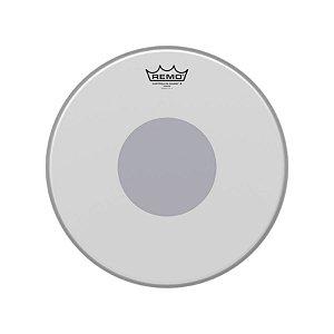 Pele 14 Pol Controlled Sound X Porosa C/ Circulo Preto Cx-0114-10 Remo