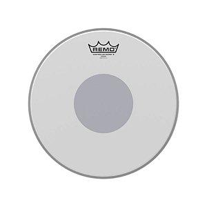 """Pele 12"""" Controlled Sound Porosa Circulo Preto Cx011210 Remo"""