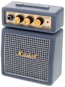 Mini Amplificador para Guitarra MARSHALL MS-2C-E  1W