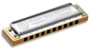 Gaita Harmonica Hohner Marine Band Deluxe 2005/20 - D (RE)