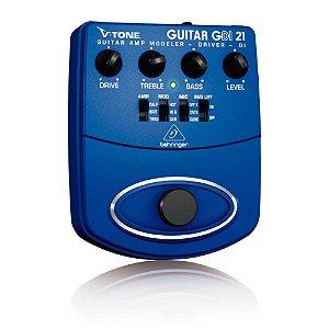 Pedal para Guitarra Behringer GDI21 VTone Guitar Amp Modeler