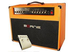 Amplificador Guitarra Borne Evidence 200 150w Rms Laranja