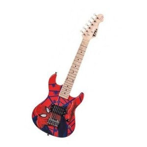 Guitarra Infantil Spider Man Profissional Phoenix