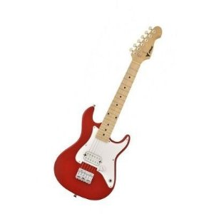 Guitarra Infantil Profissional Stratocaster Phoenix Junior Vermelha