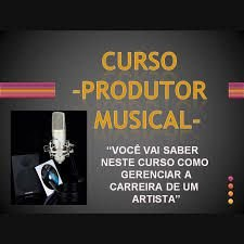 CURSO PRODUTOR MUSICAL
